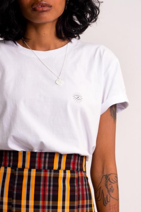 Camiseta T-shirt Logo Branca