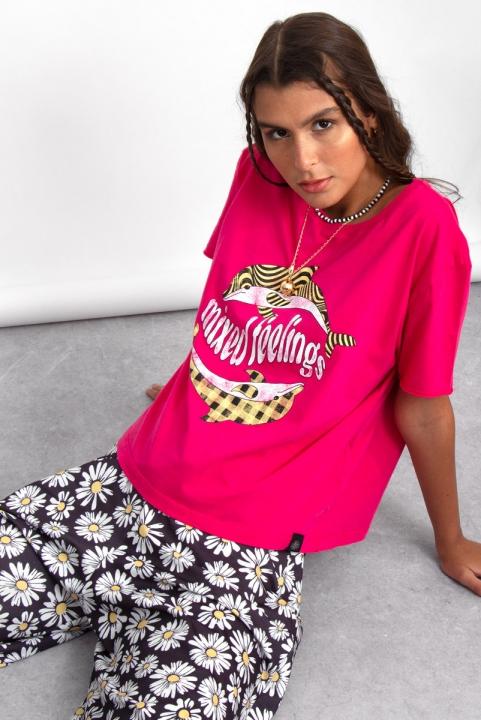 Camiseta T-shirt Mixed Golfinho