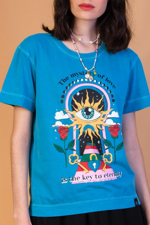 Camiseta T-shirt Mystery Key