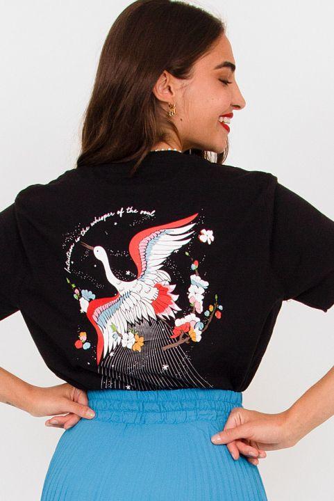 Camiseta T-shirt Pássaro Trust