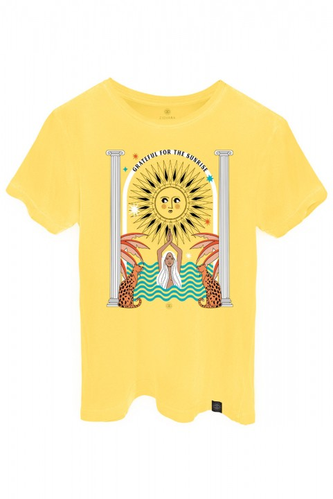 Camiseta T-shirt PLUS Amarela Sunrise