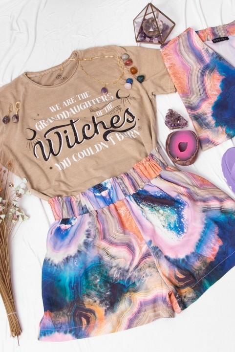 Camiseta T-shirt PLUS Areia Witches