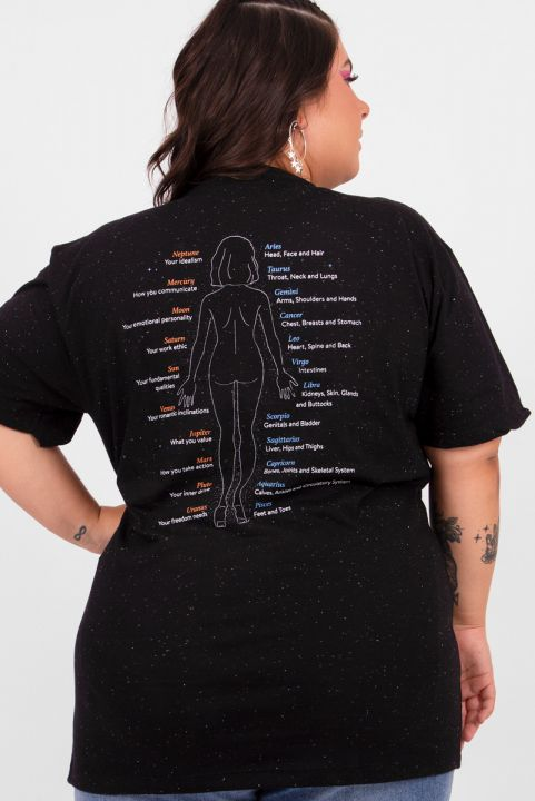 Camiseta T-shirt PLUS Astrological Body