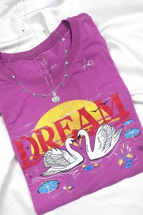Camiseta T-shirt PLUS Cisne No Lago