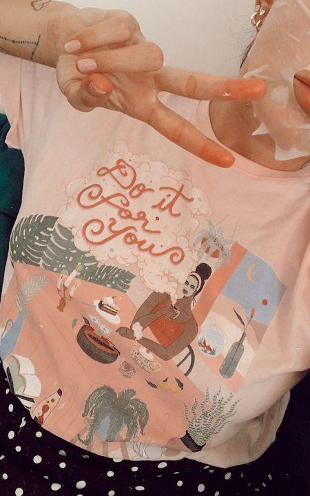 Camiseta T-shirt PLUS ROSA Chá da Tarde