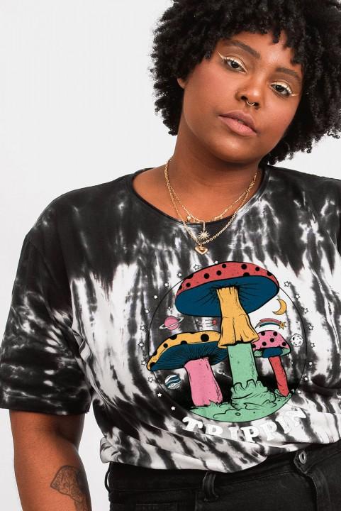 Camiseta T-shirt PLUS Tie Dye Trippin