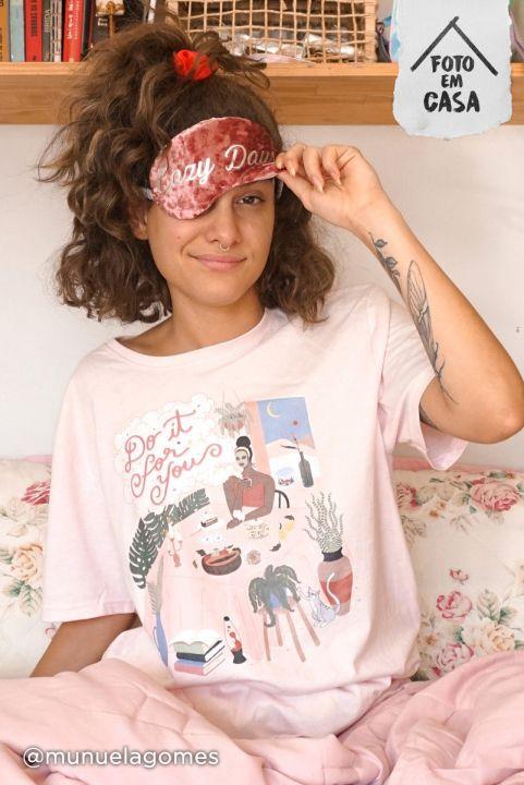 Camiseta T-shirt ROSA Chá da Tarde