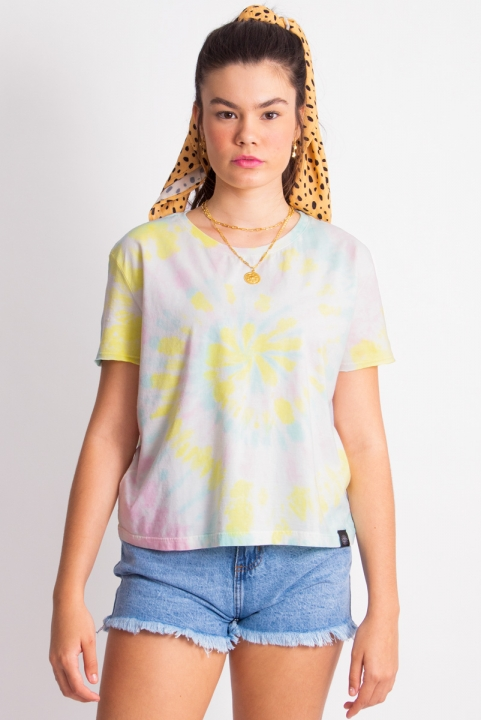 Camiseta T-shirt Tie Dye Basic Candy