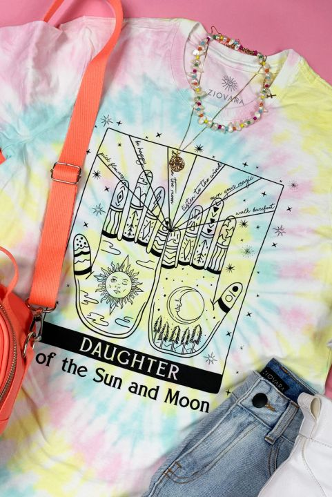 Camiseta T-shirt Tie Dye Daughter