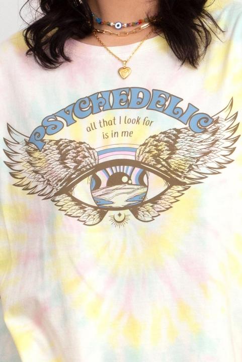 Camiseta T-shirt Tie Dye Psychedelic