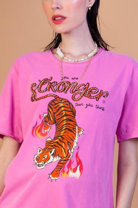 Camiseta T-shirt Tigre Strong