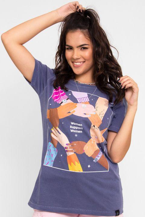 Camiseta T-shirt Women União