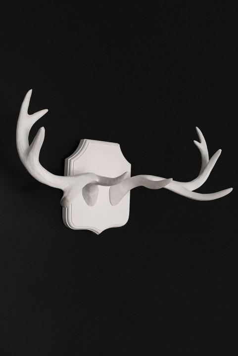 Chifre Decor Alce / Veado Escandinavo Branco