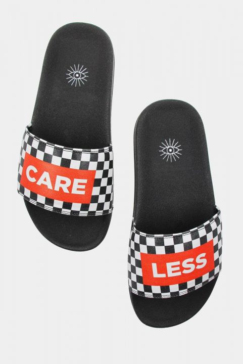 Chinelo Slide Estampado - CARE LESS