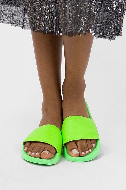Chinelo Slide Neon - Verde