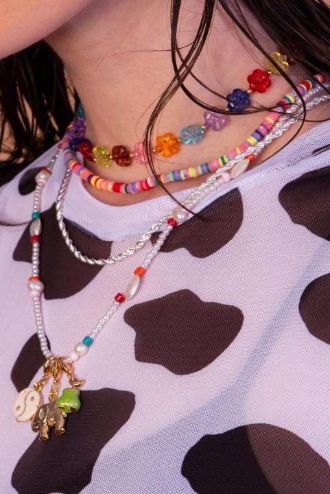 Choker Beads Colored
