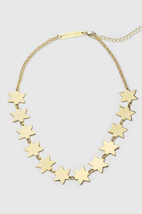 Choker Estrelado - Dourado