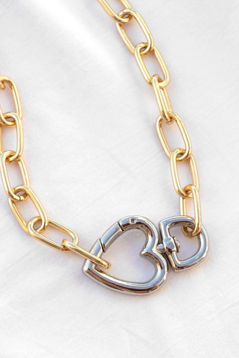 Colar Chain Coração - Mix Banhos