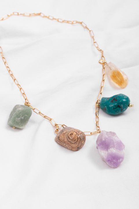 Colar Pedras Luck