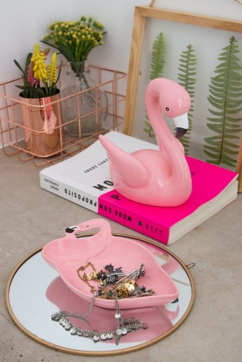 Combo Decor Home - Flamingos