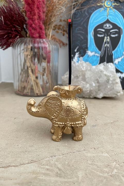 Incensário Decor Elefante Nirav