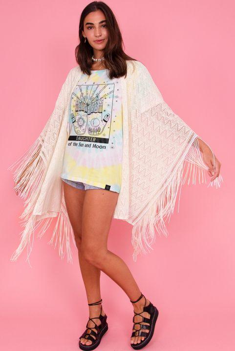 Kimono c/ Franja Branco