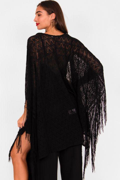 Kimono c/ Franja Preto