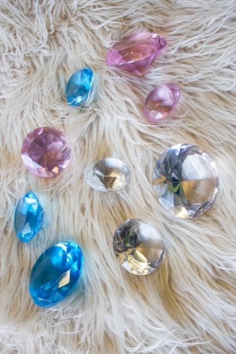 Kit Adorno Decor 3 Diamantes