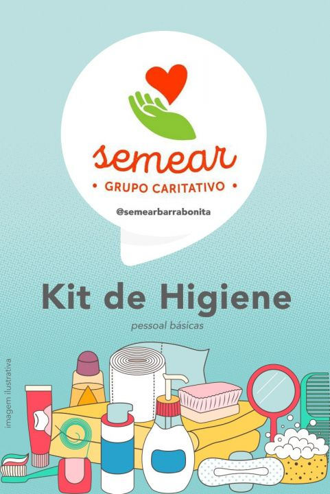 Kit de Higiene - Semear