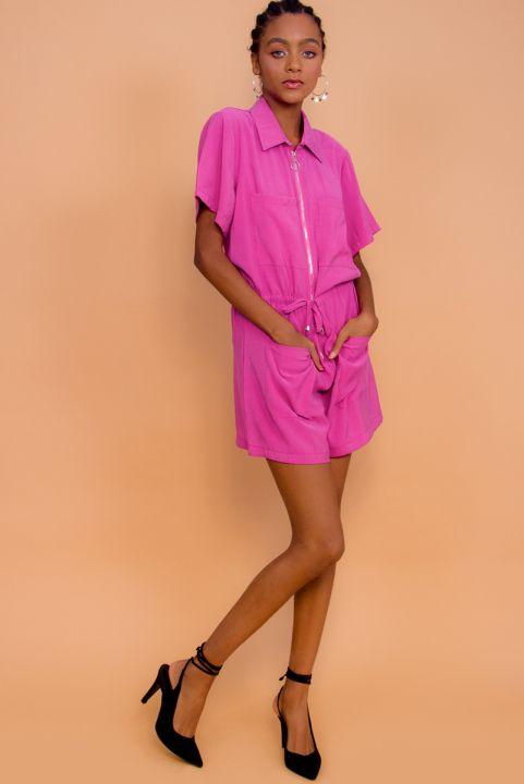 Macaquinho Utilitary Pink