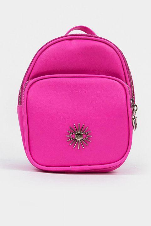 Mochila Shoulder Zio - Pink Neon