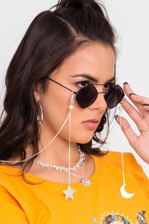 Óculos de Metal Gótica Suave