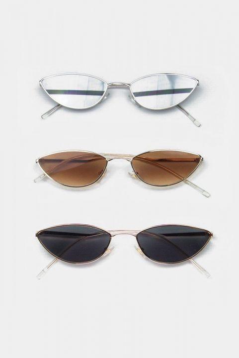 Oculos Metal Cat Eyes Colors
