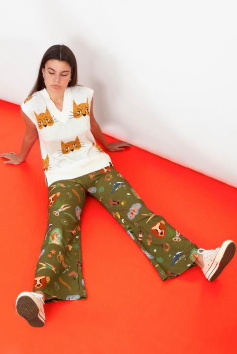 Pantalona Elementar - Verde