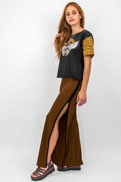 Pantalona Fenda Camel