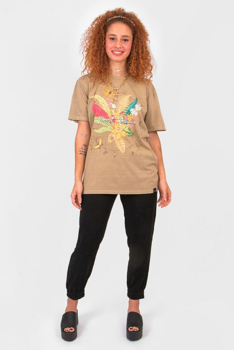 Camiseta T-shirt Forest Treasure