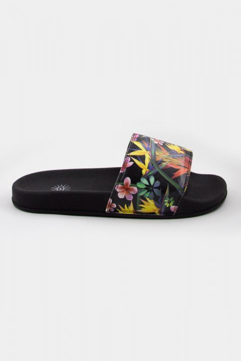 Chinelo Slide Estampado - TROPICAL