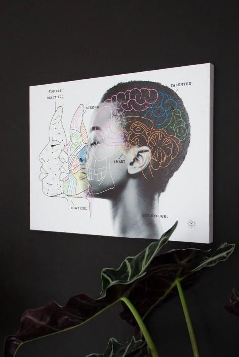 Quadro Decor Anatomia Feminina