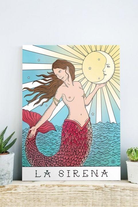 Quadro Decor La Sirena