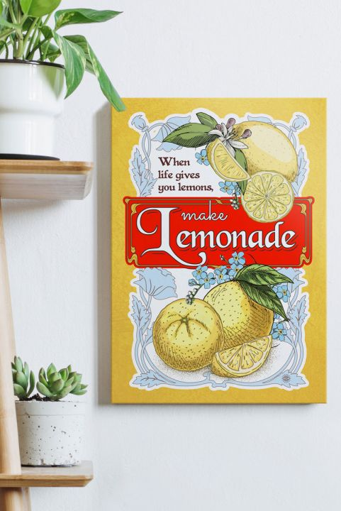 Quadro Decor Lemonade