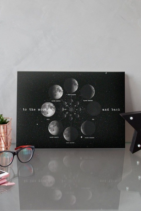 Quadro Decor Moon