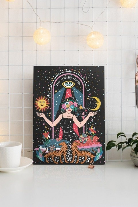 Quadro Decor Tarot Intuition