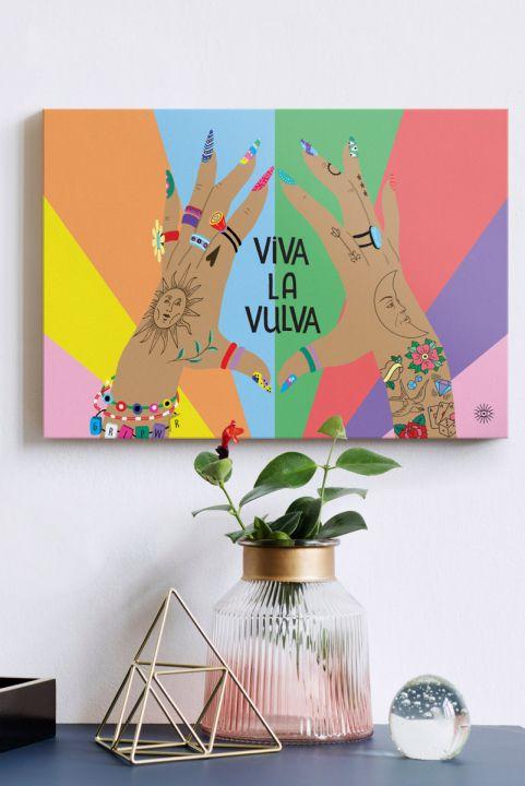 Quadro Decor Viva La Vulva