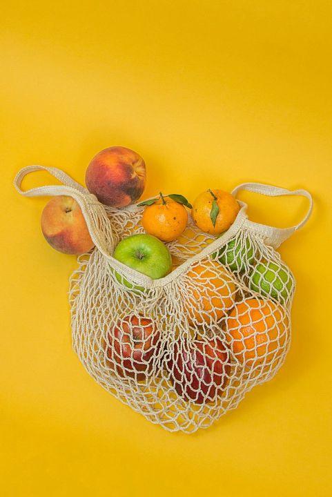 Sacola Market Netbag - CRU