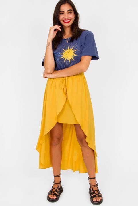 Saia Summer Amarelo Sol