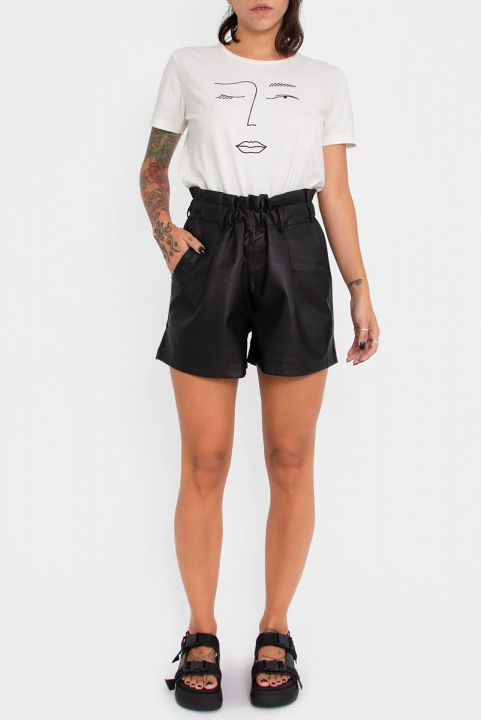 Shorts Clochard Leather