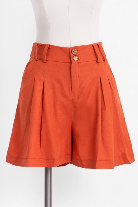 Shorts Clochard Linho Jatobá