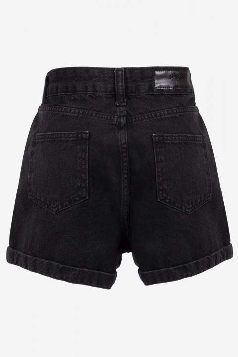 Shorts New Mom Jeans Black