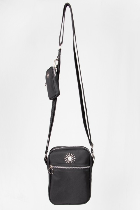 Shoulder Bag Multi Preto c/ Níquel