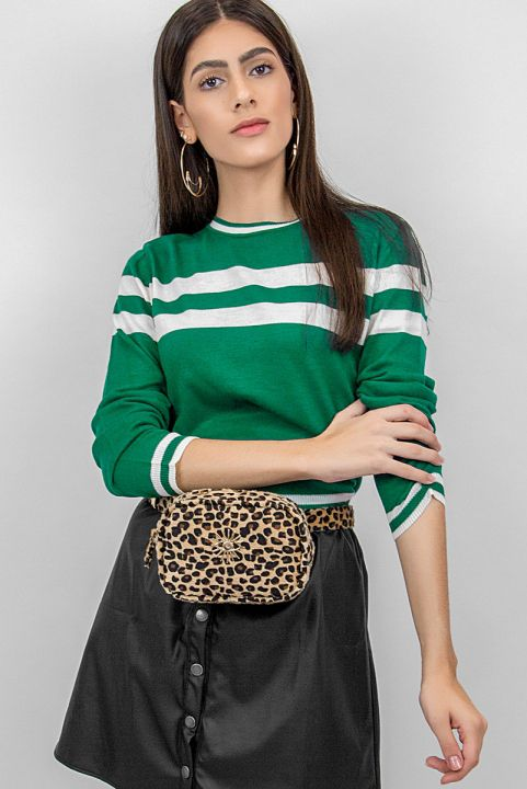 Sueter Tricot Basic Verde